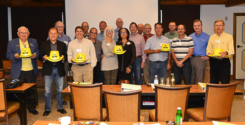 25th Annual Brimstone Sulfur Symposium, Mr. / Ms. Sulfur Club Members